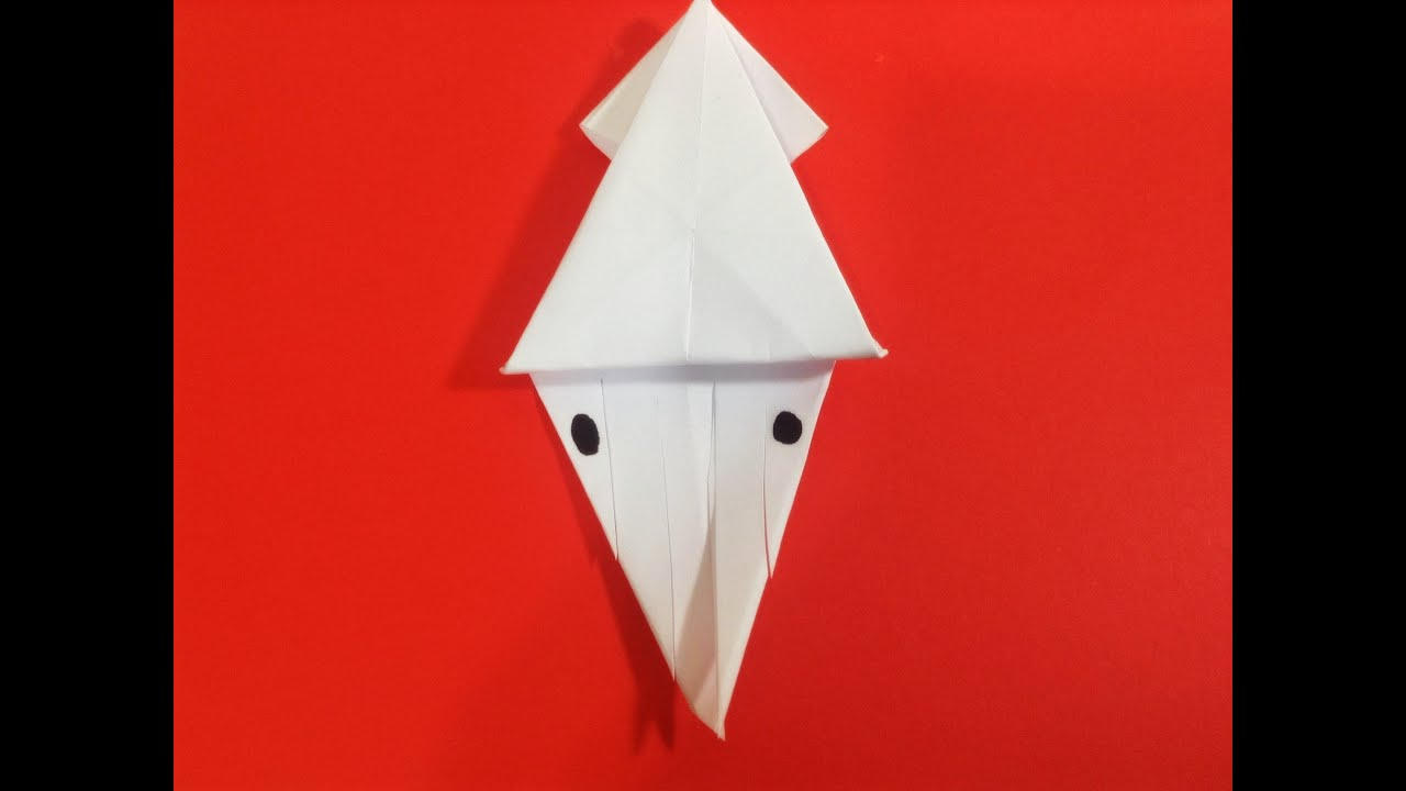 origami squid youtube