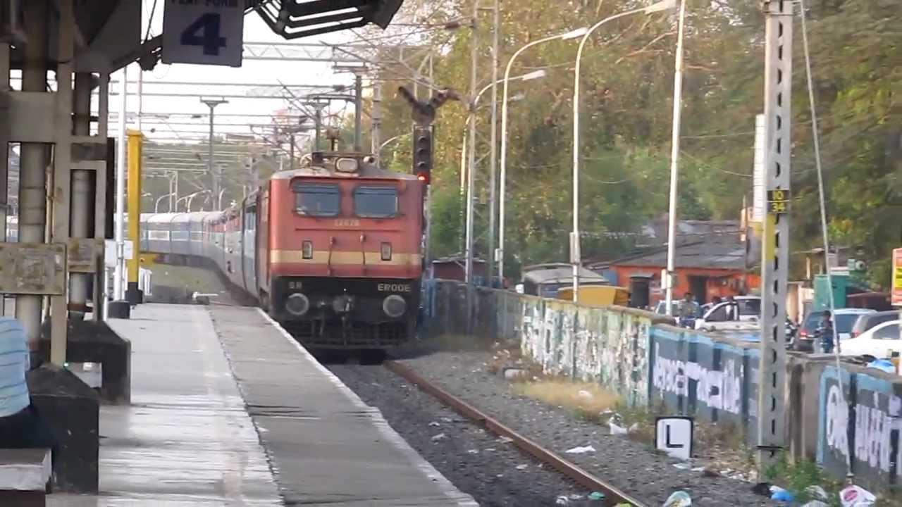12633 Chennai Egmorekaniyakumari Super Fast Express