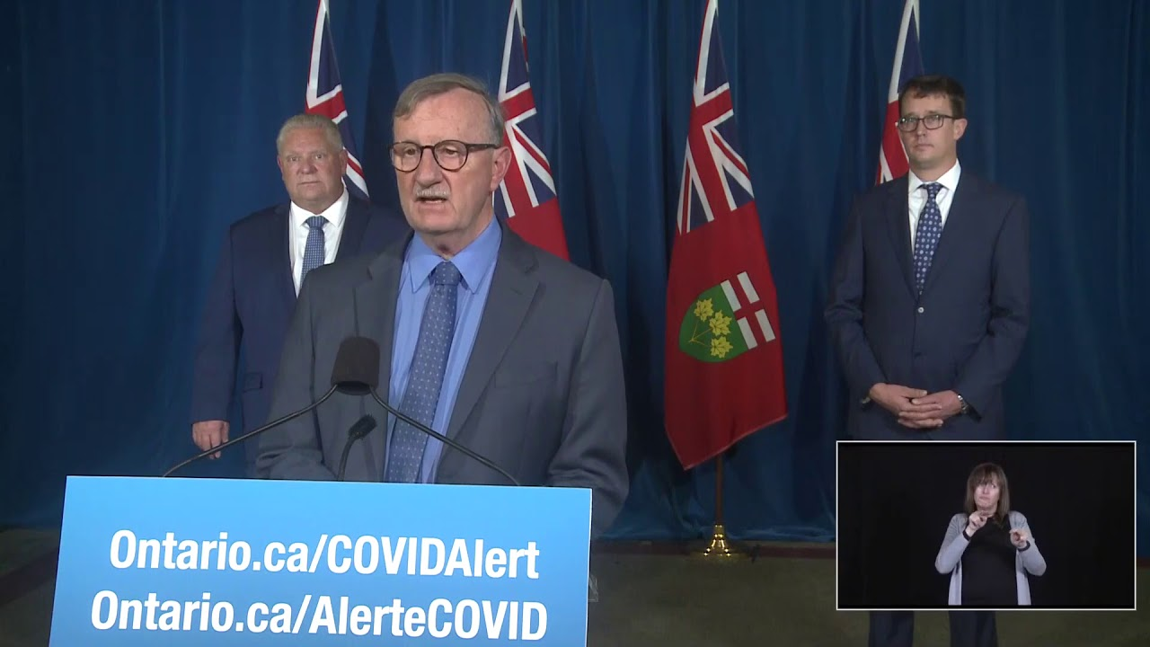 Ontario Premier Doug Ford Provides COVID-19 Update | November 19