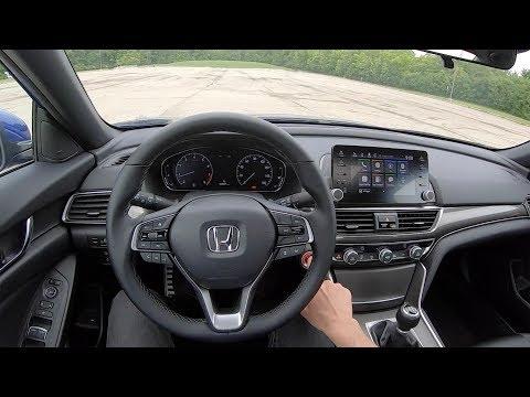 2019 Honda Accord 2.0T Sport 6-Speed Manual - POV Review