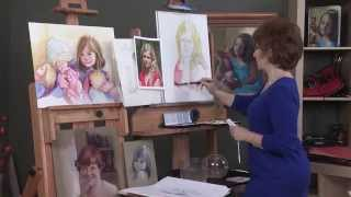 How to Paint Watercolor Portraits the Easy Way Luana Winner Preview