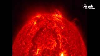 عاصفة شمسية دمرت الغلاف الجوي للمريخ
