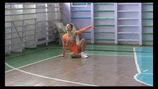 Соло - Загидуллина Альбина. Чемпионат Ульяновской области по спортивной аэробике