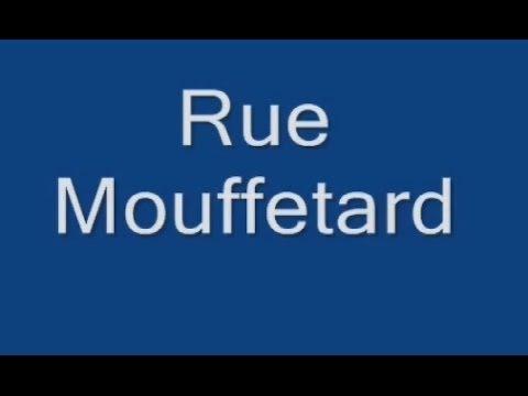 Rue Mouffetard Paris Arrondissement 5e