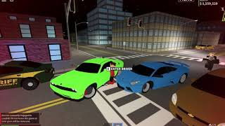 sofalofa gets super hurt ran over by a car!!!! EMS CALLED!!!!! Roblox liberty county