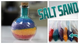 Colorful Salt Sand Art - Do It, Gurl