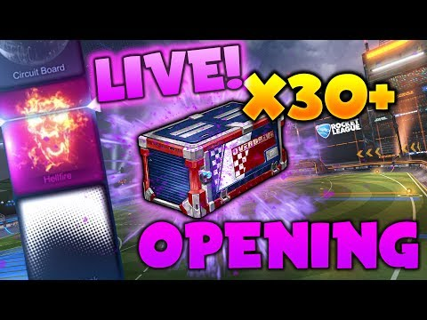 *NEW* HUGE OVERDRIVE CRATE OPENING - Rocket League UPDATE! (Overdrive Crate Trading and Trade Ups!)