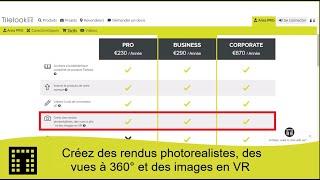 Créez des rendus photoréalistes, des vues à 360 ° et des images en VR