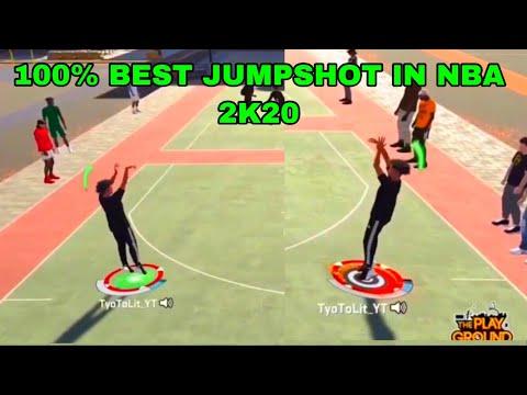 100% GREENLIGHT JUMPSHOT!! BEST JUMPSHOT IN 2K20