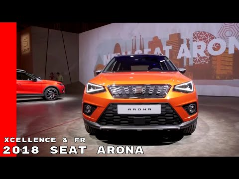 2018 Seat Arona Xcellence & FR Interior and Exterior