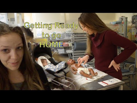 Last night in the NICU, CPR and car seat challenge