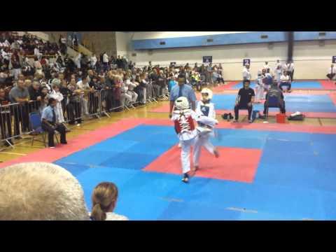 Tom Worthington taekwondo 17th Nov