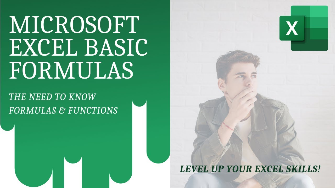 Microsoft Excel Basic Formulas and Functions [Excel Basics for Beginners]