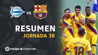 Resumen de Deportivo Alavés vs FC Barcelona (0-5)