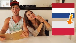 AARTHOS HEEFT EEN HELE GROTE - mijn poolse vriendin nederlands laten praten:P