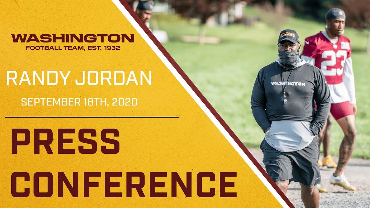 Press Conference - Randy Jordan
