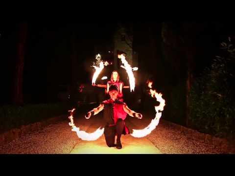 Spettacolo di fuoco medievale - sputafuoco - mangiafuoco - LUX ARCANA