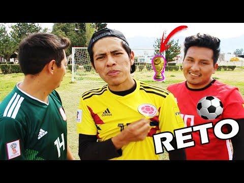 Mundial Rusia 2018 CHALLENGE | México Vs Colombia Vs Egipto *RETOS DE FUTBOL*