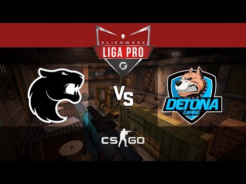 Alienware Liga Pro Gamers Club MAI/18 - FURIA vs DETONA (Train)
