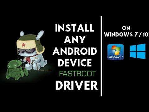 How To Install Fastboot Drivers On PC | Install Android Bootloader Interface Driver For MI Devices