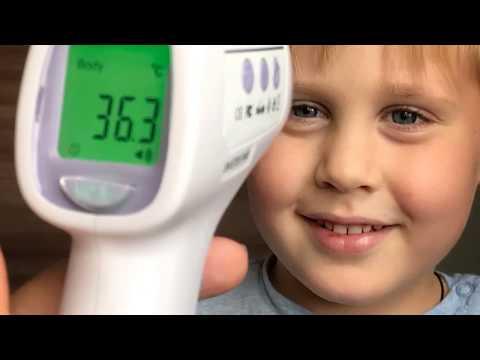 Точный бесконтактный инфракрасный термометр (пирометр) с Алиэкспресс