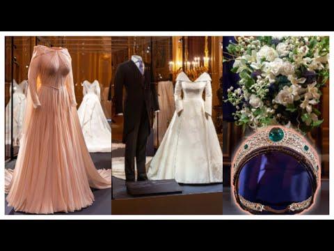 Princess Eugenie Wedding Dress & TIARA Go On Display - Windsor Castle!