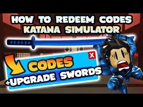 How To Get Legendary Katana In Roblox Katana Simulator How To Redeem Codes For Katana Simulator Secret Room Roblox Youtube