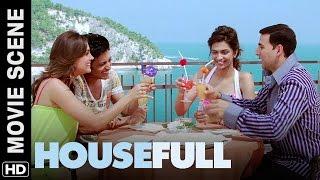 Chalo Italy ghumte hain | Housefull | Movie Scene