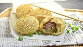Taiwanese Pepper Bun Recipe (胡椒餅) - ItsMyDish