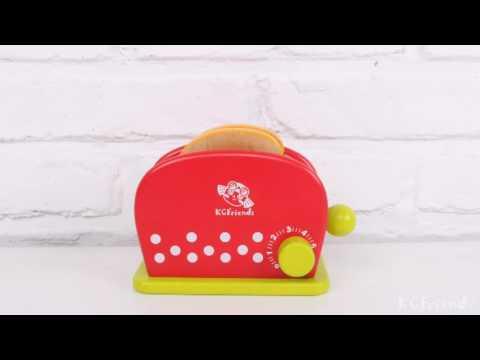 KCFriends Toaster Set