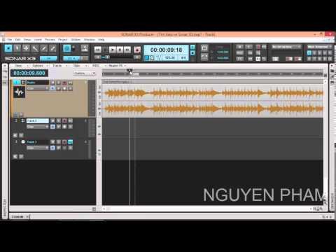 Huong dan su dung Sonar Producer x3 Part 2