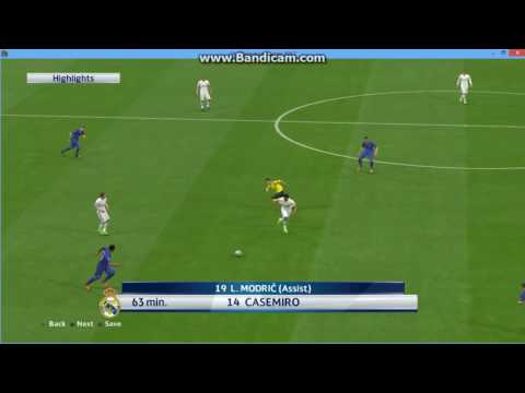 Casemiro goal ~ pes 2017
