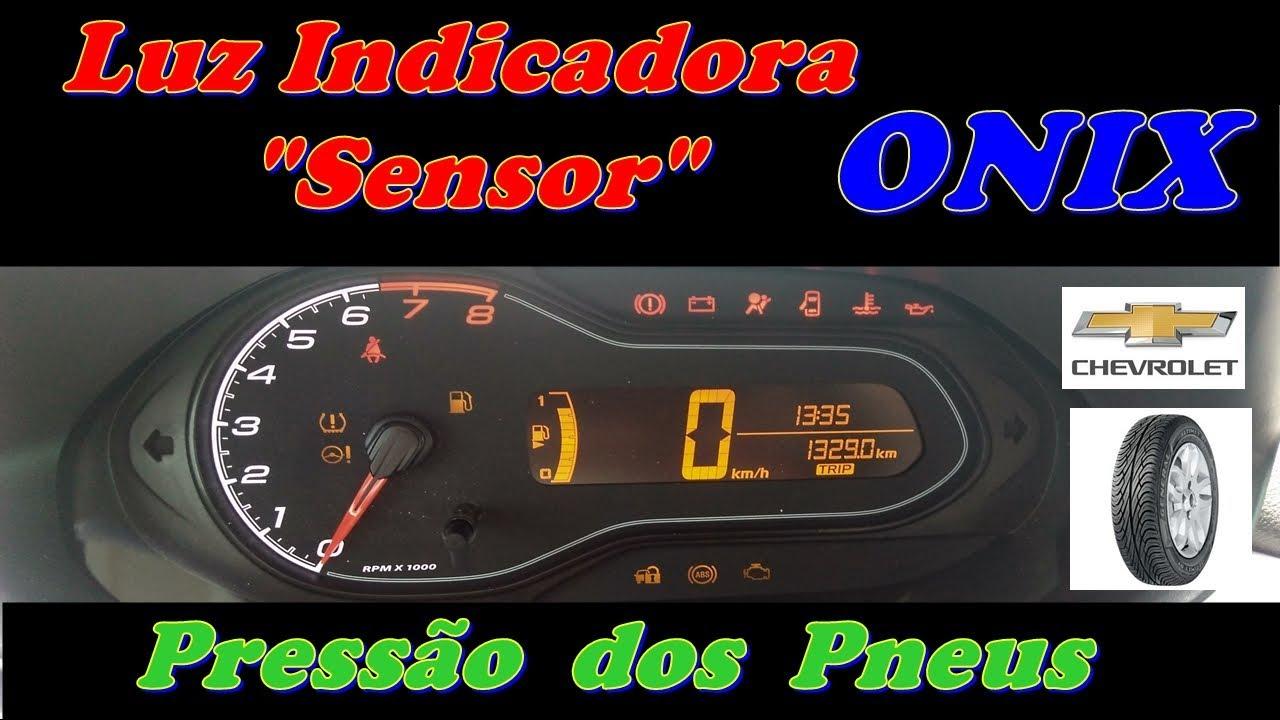 Luz Sitema De Monitoramento Da Presso Dos Pneus Onix Youtube Faze Tach Wiring Diagram
