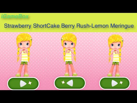 Strawberry shortcake Berry Rush  LEMON MERINGUE MIRRORING/DOG  Gameplay makeover for kid. Ep.51  sc 1 st  YouTube & Strawberry shortcake Berry Rush
