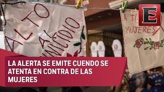 90 municipios en México cuentan con alerta de género
