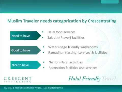 Faith based needs of Muslim Halal conscious travelers