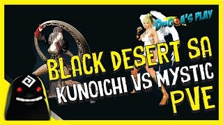 ⊰ BDO SA - Kunoichi vs Mystic - PVE FARMING - PT-BR ⊱
