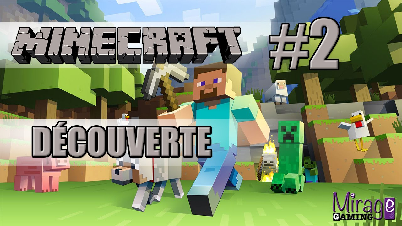D couverte de minecraft les minis jeux fr 2 youtube - Jeux video de minecraft ...