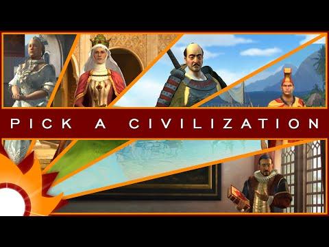 Civilization V Brave New World - Pick a Civilization 2 |