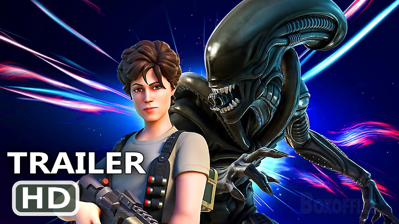 "PS5 - Fortnite ""Ripley and the Xenomorph"" Trailer (Alien, 2021)"