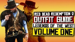 Legendary Gunslinger Outfits - Red Dead Redemption 2 (Clint Eastwood/Django Unchained)