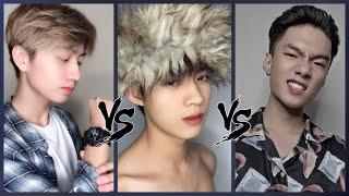 #7 ĐẠI CHIẾN TIK TOK|| [Đoàn Quốc Thành] vs [Tuấn Bo] vs [Chiến Đỗ] ~ Combo 3 Cute - Đẹp - Ngầu