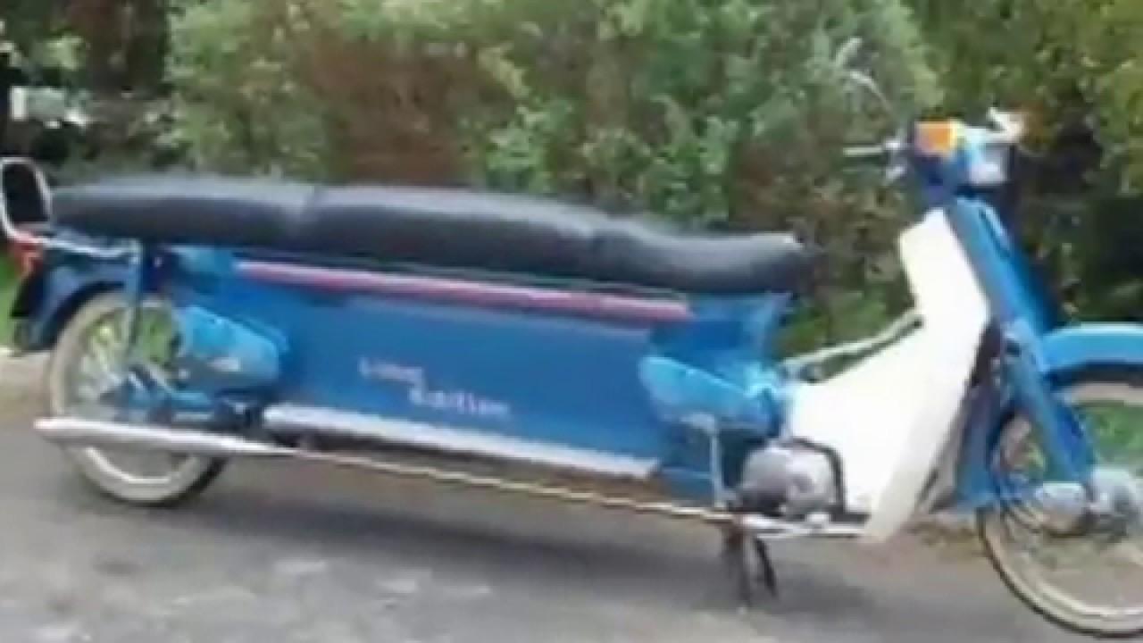 Modifikasi Motor Unik Dan Lucu Mobiliobaru