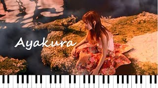 ❀Ayakura❀ ♫ Kingyo Hanabi 金魚花火 ♫ (piano ピアノ ver.) - Ai Otsuka 大塚愛
