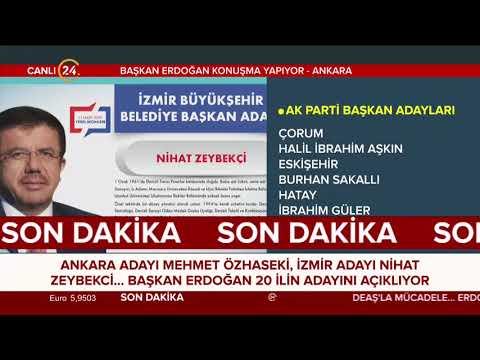 AK Parti'nin başkan adayları