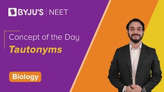 Concept of the Day: Tautonyms | BIOLOGY | NEET | Pushpendu Sir