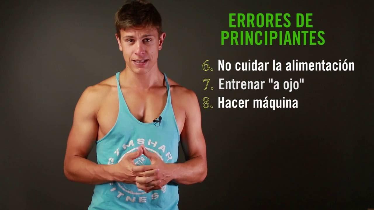 10 errores de principiante típicos del gym