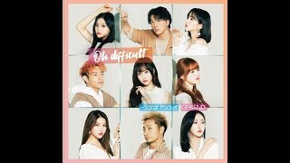 Cover images ソナーポケット【Oh difficult (with GFRIEND)】