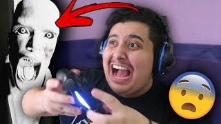 توبز يجرب يلعب لعبة رعب لأول مرة بحياته ! (ما توقعت اني بخاف ! )