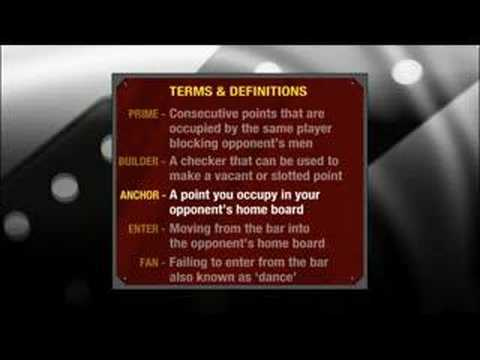 Backgammon terms & definitions